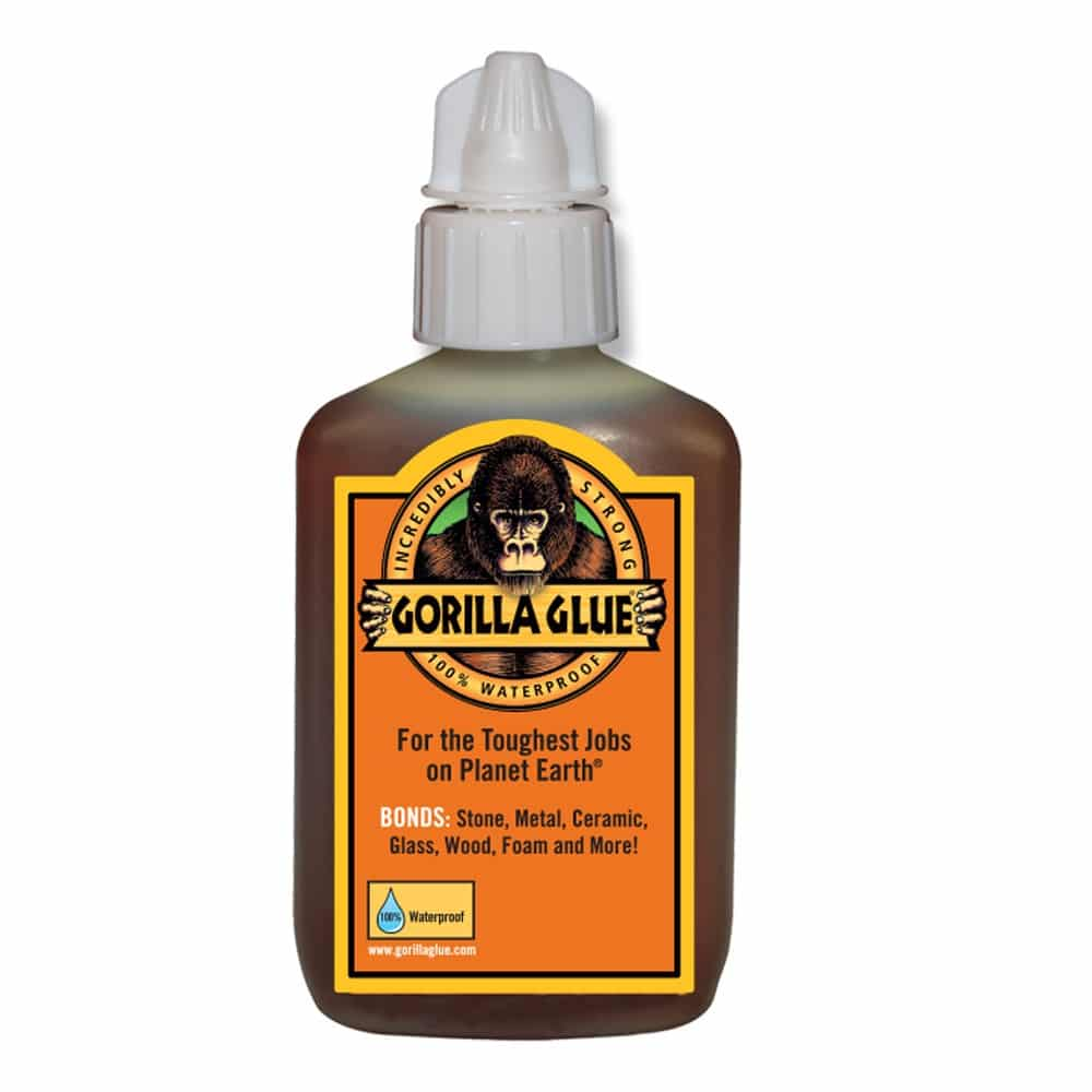 how to remove gorilla glue
