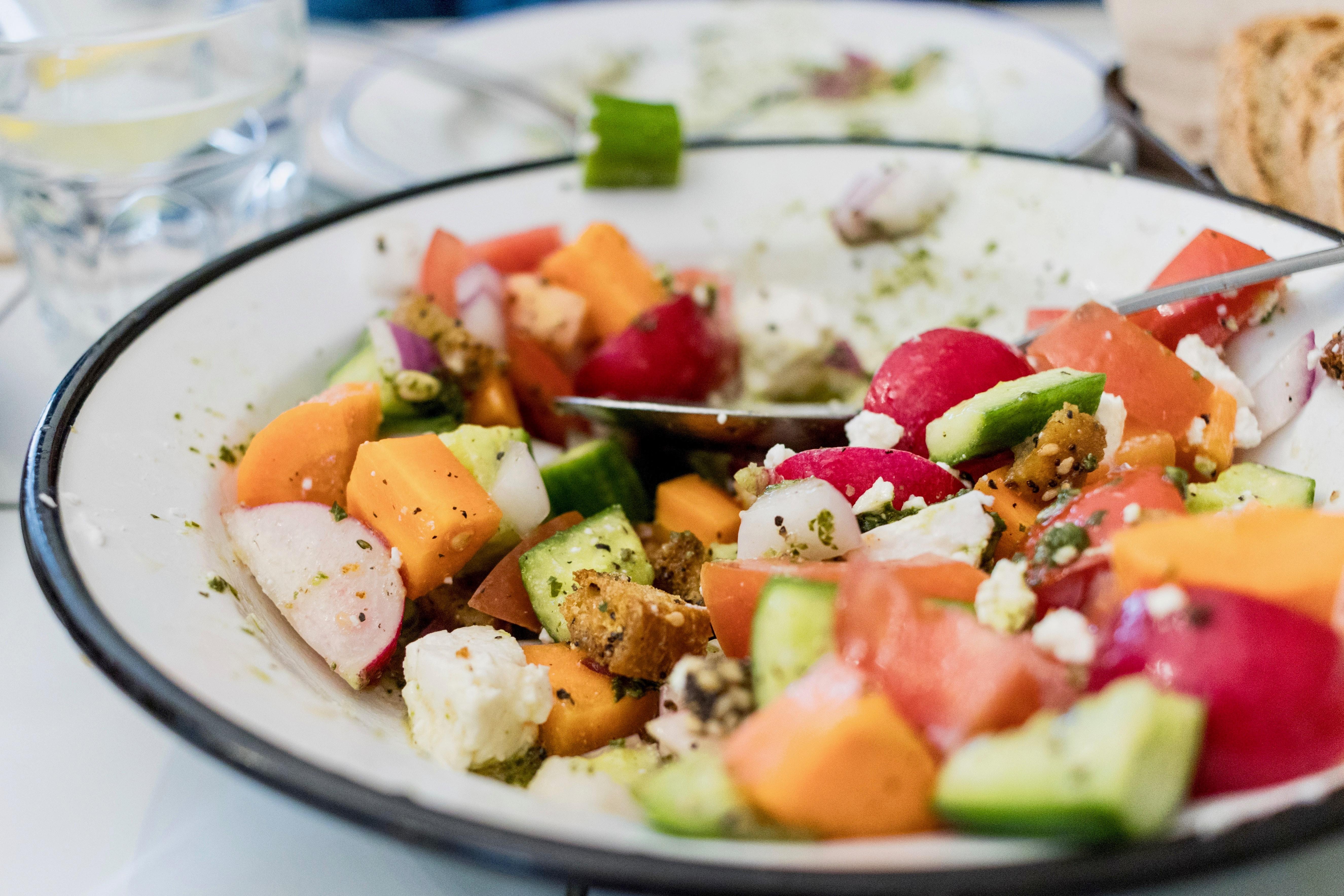Romaine veggie mix