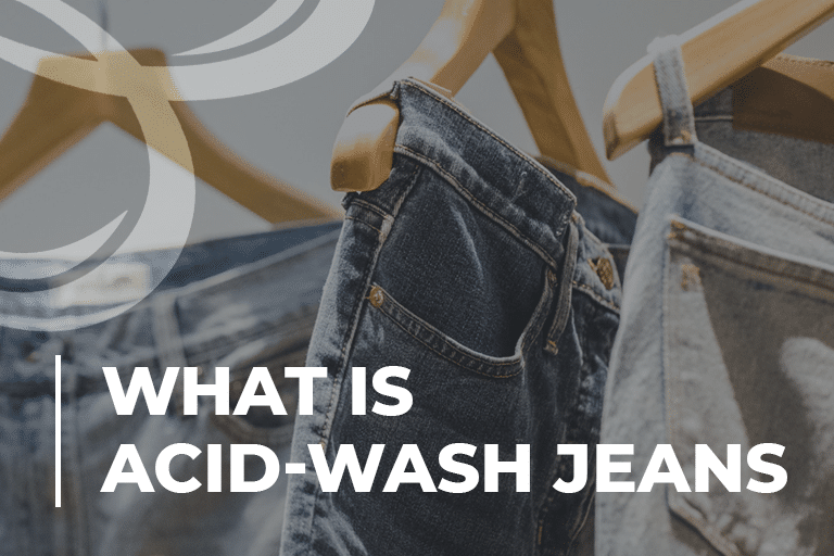 What Is Acid-Wash Jeans