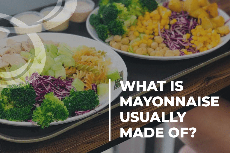 What Is Mayonnaise Usually Made Of