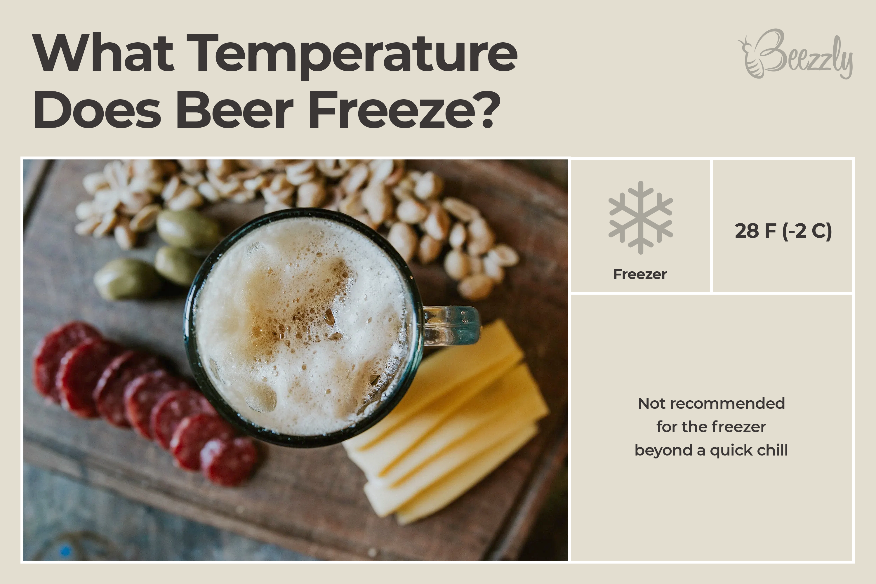 At What Temperature Does Beer Freeze