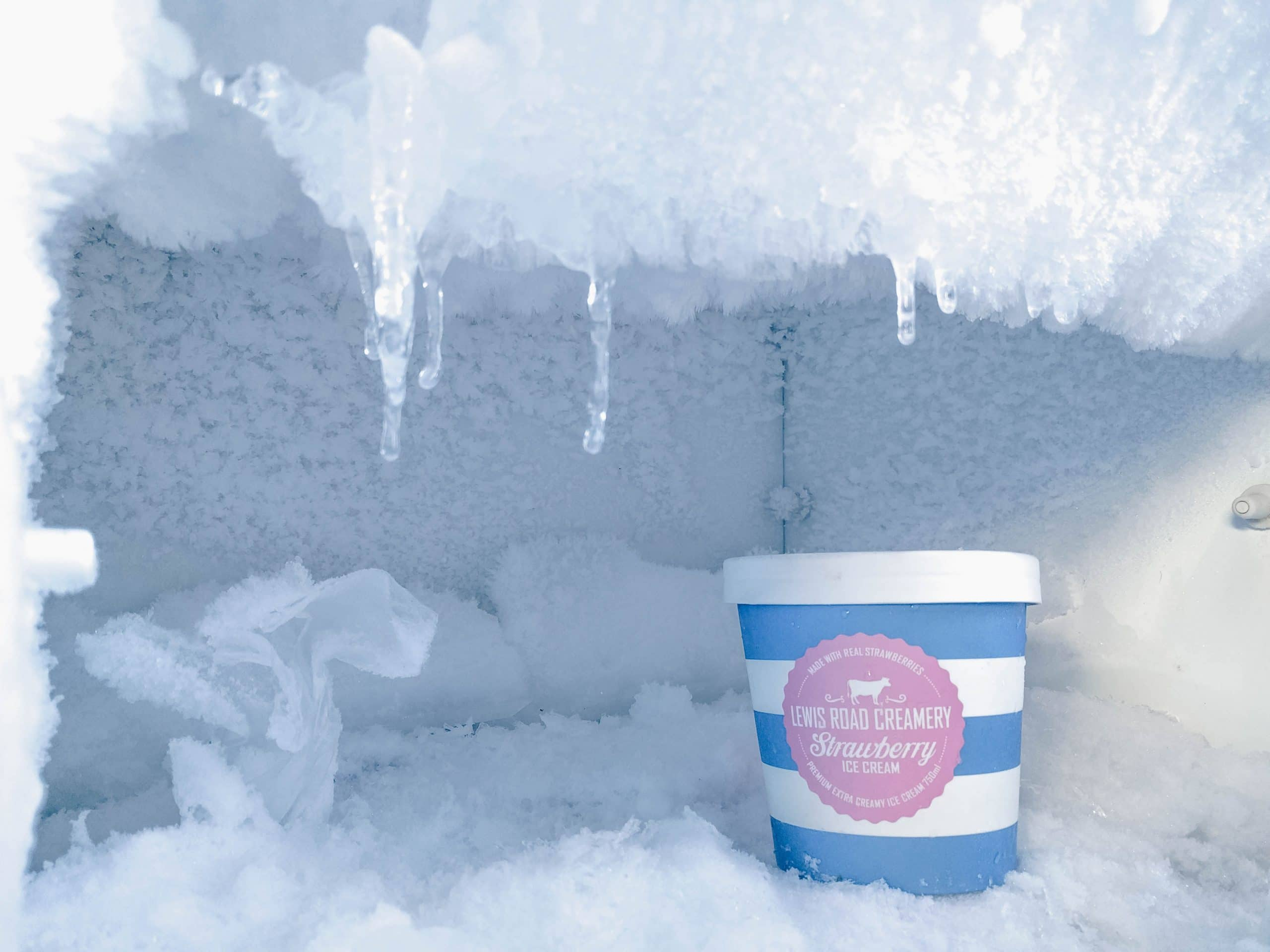 auto-defrost freezer