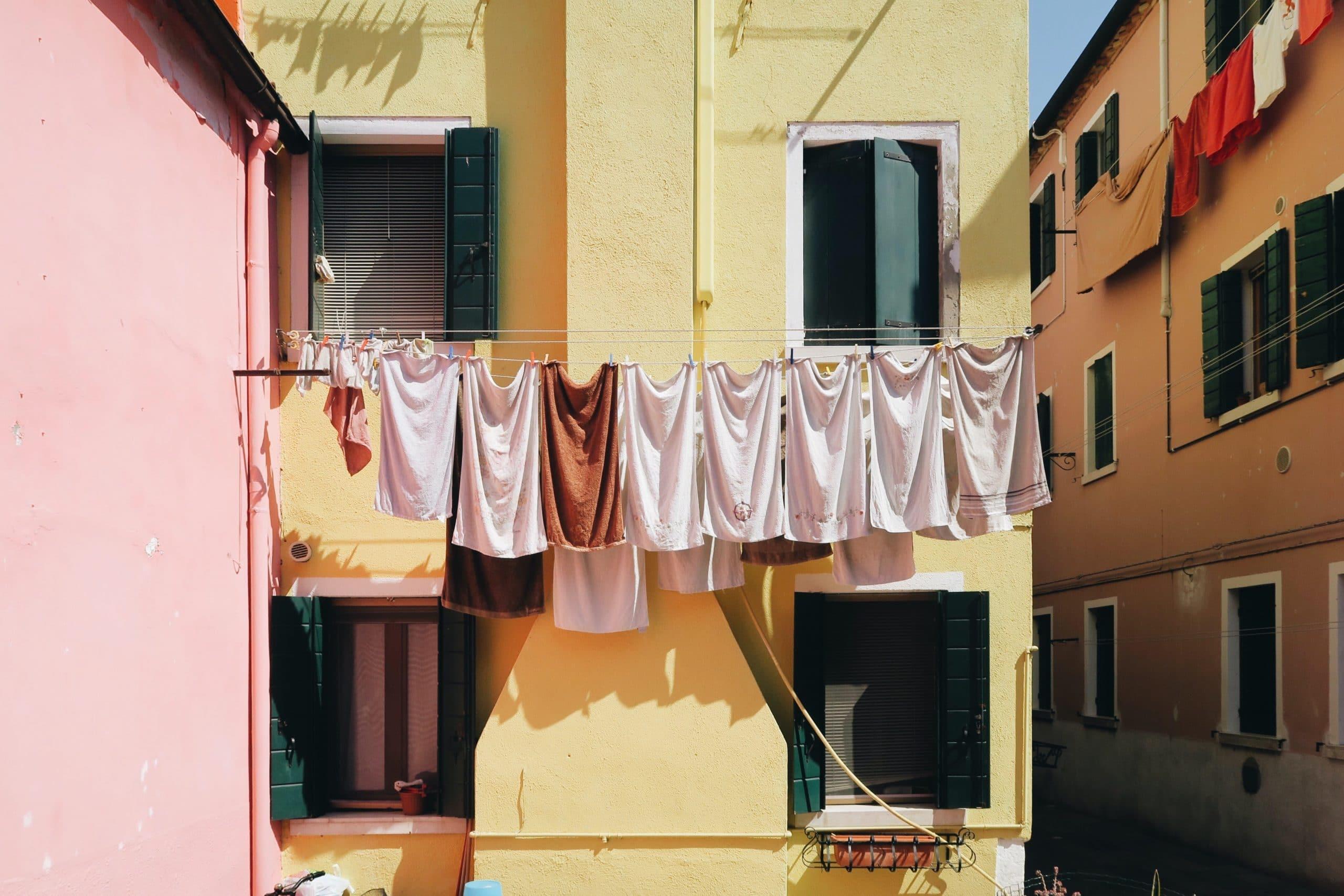 comforter laundry