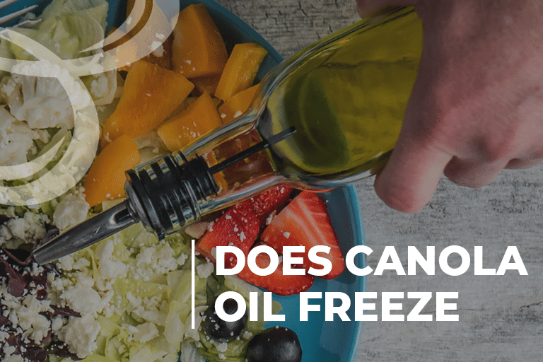 Does canola oil freeze