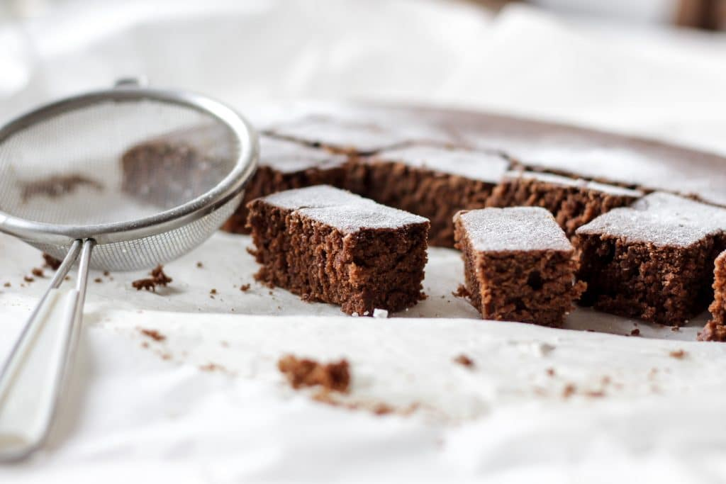 Freezing Brownies