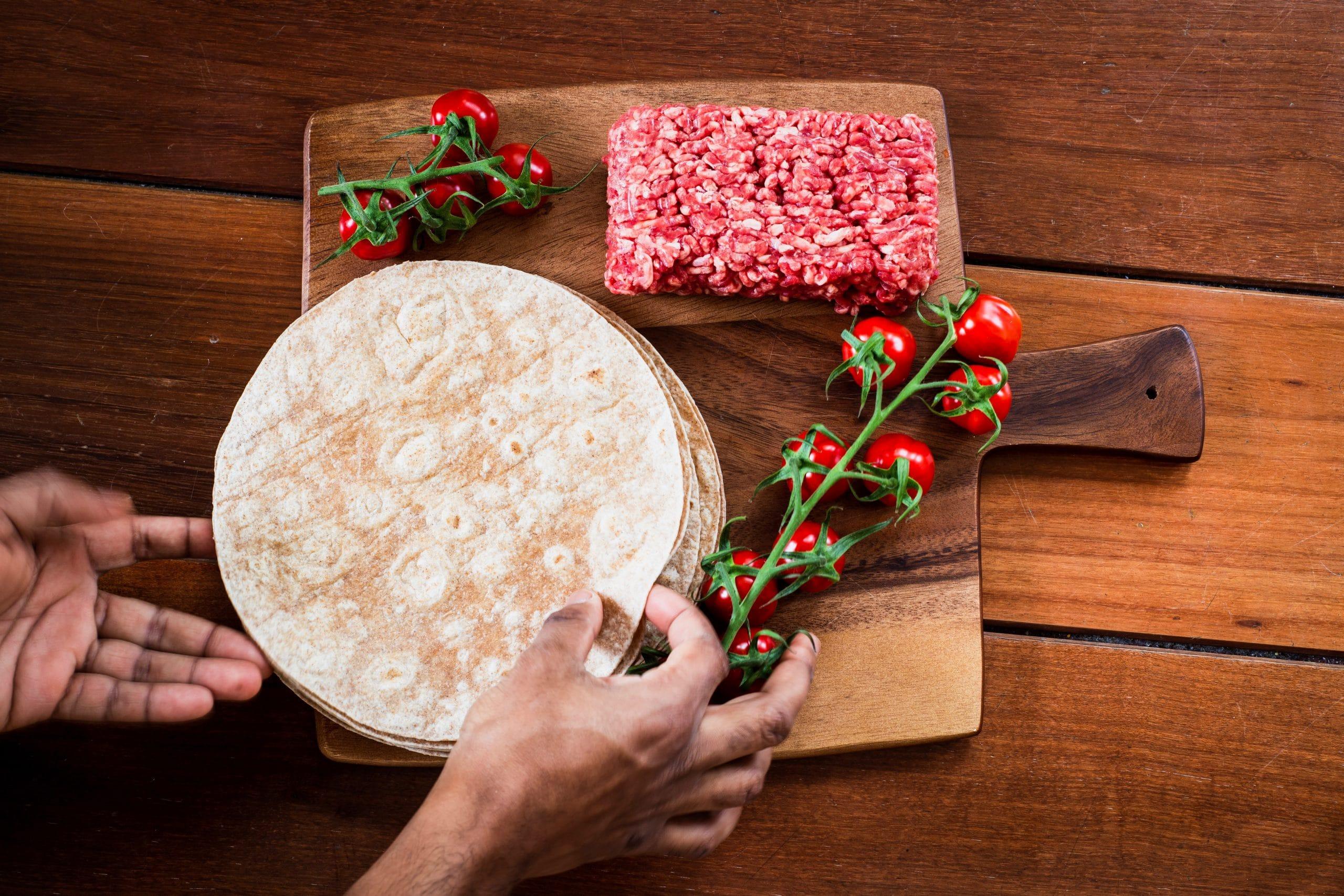 freezing tortillas