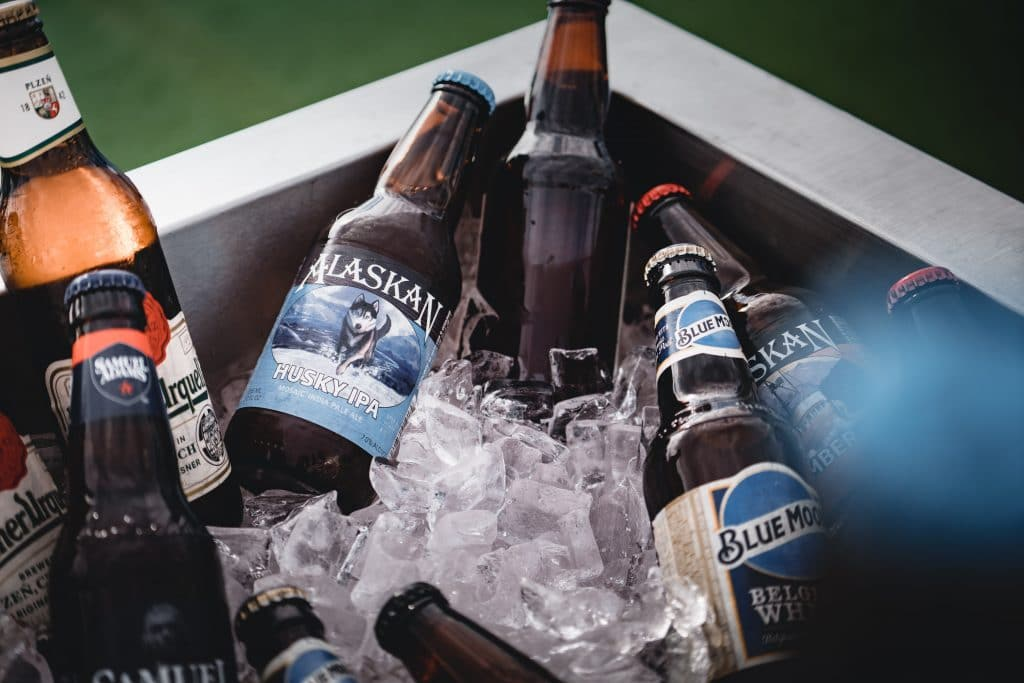 How cold can beer get before it freezes