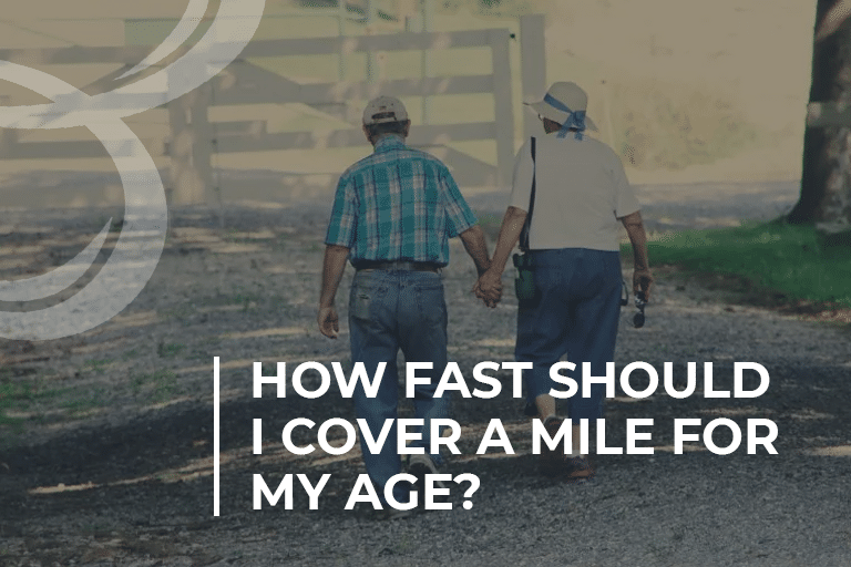 How fast should I cover a mile for my age