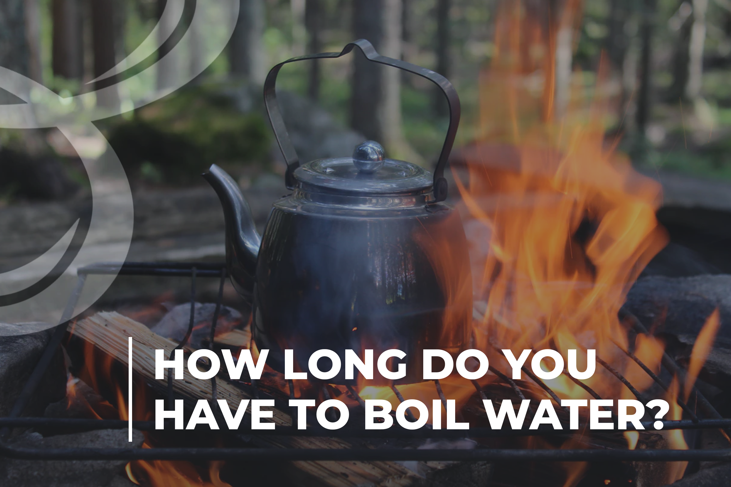 How long do you have to boil water