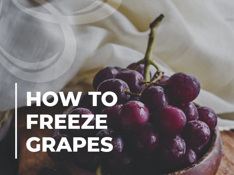 How to freeze Grapes