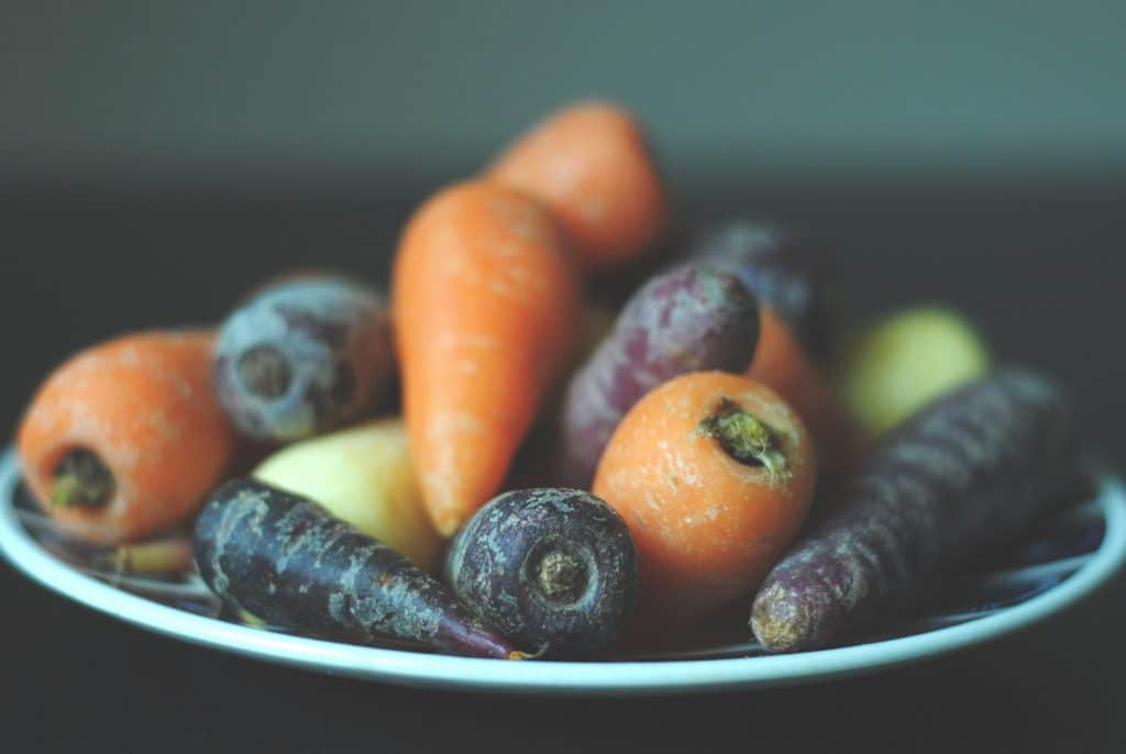how to store carrots in the freezer
