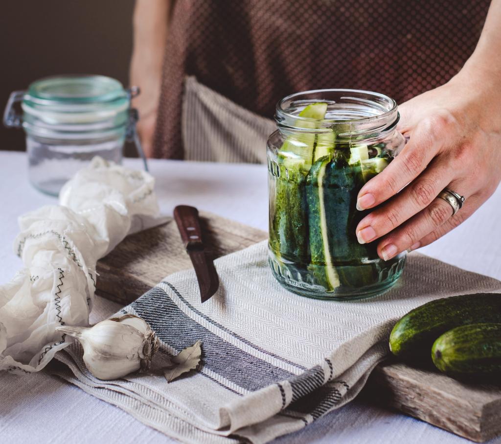 cucumbers preserve