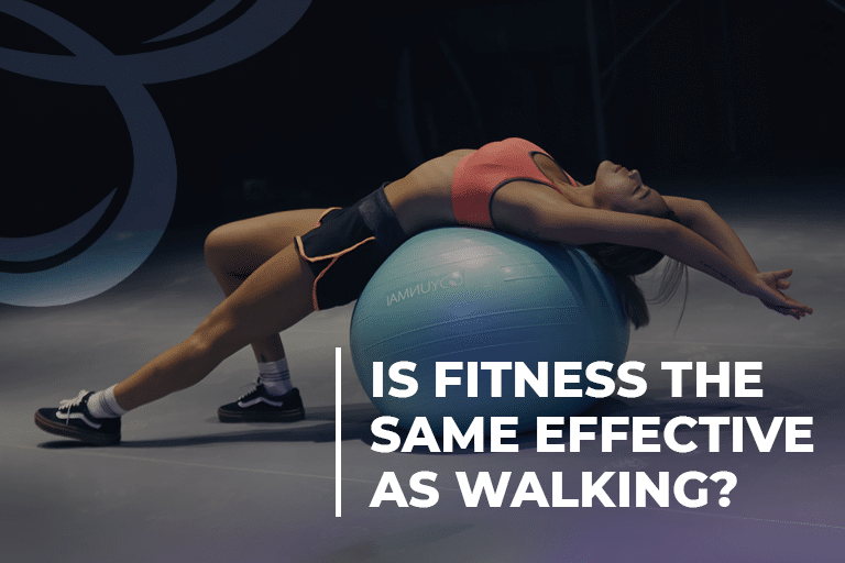 Is fitness the same effective as walking