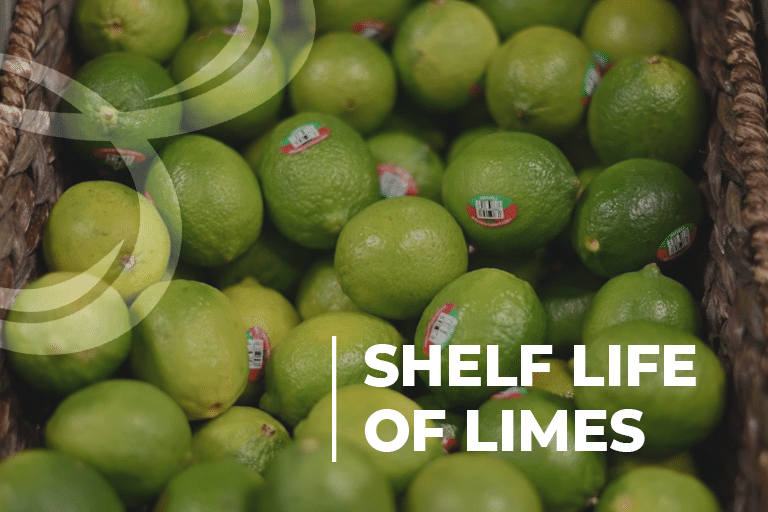 Shelf life of limes
