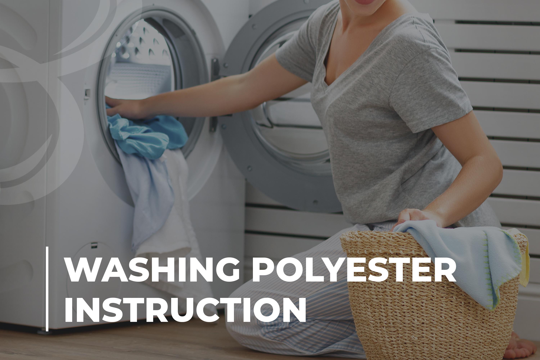 Washing Polyester Instruction