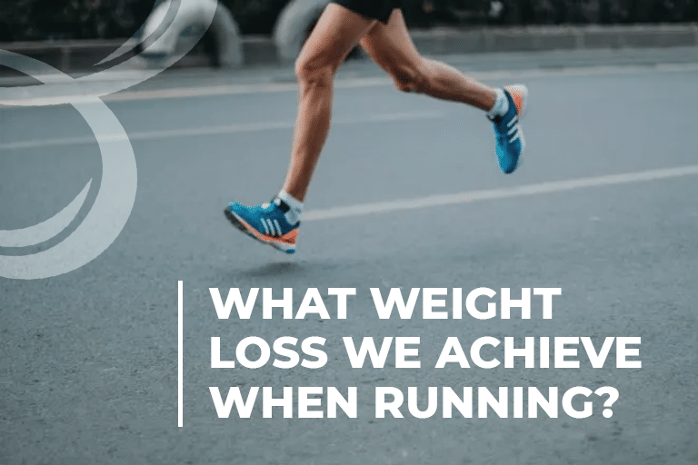 What weight loss we achive when running