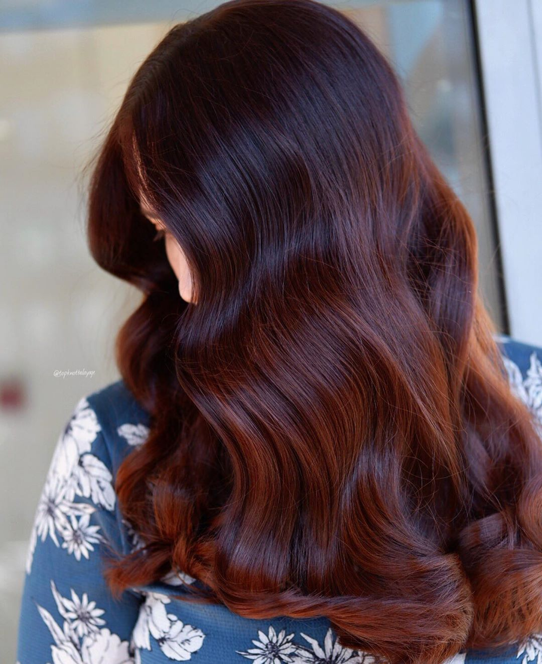 Chocolate cherry hair color