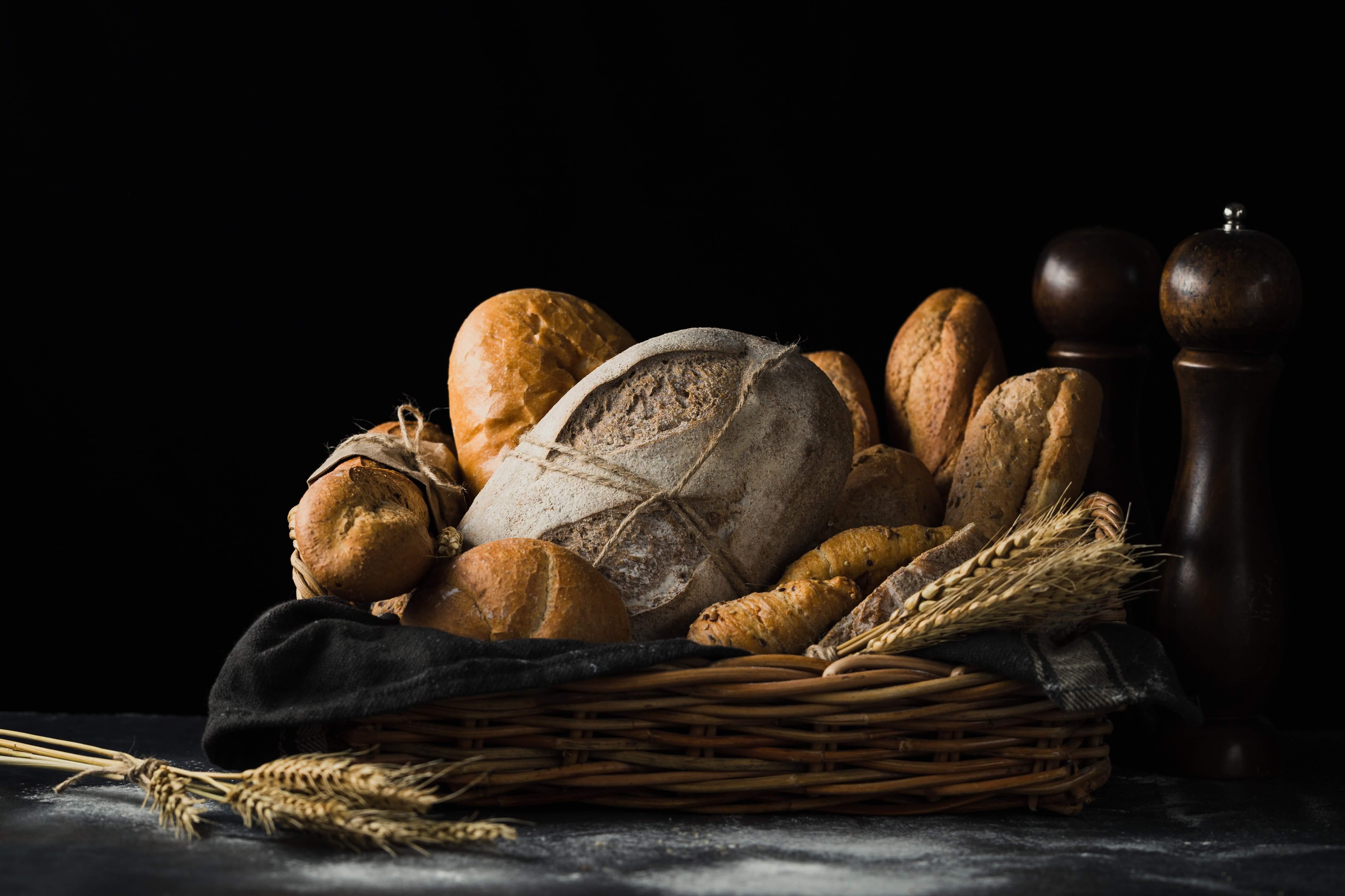 Defrosting bread