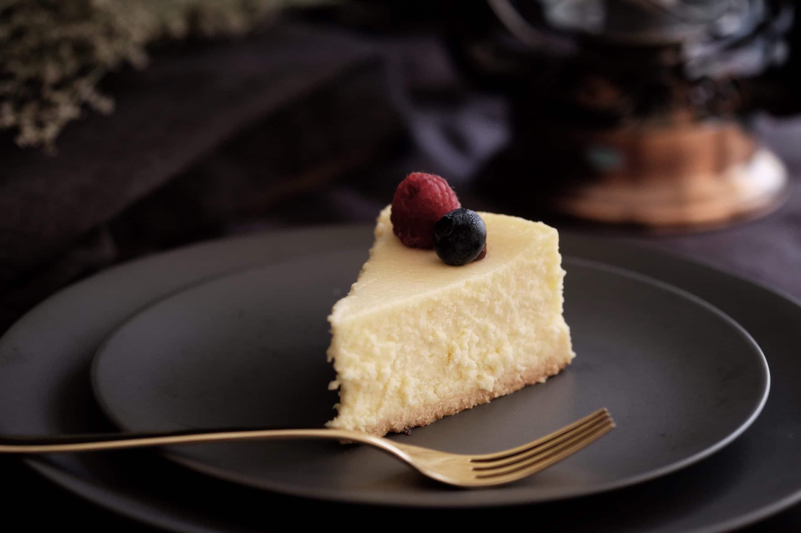 freezing a homemade cheesecake