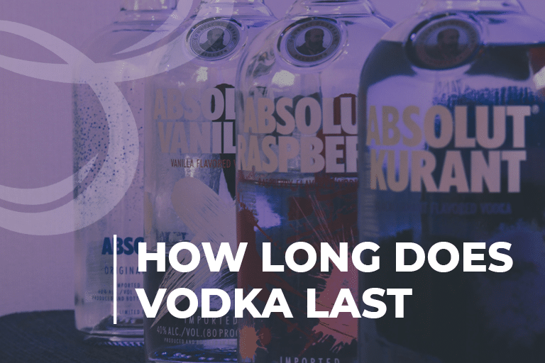 How long does vodka last