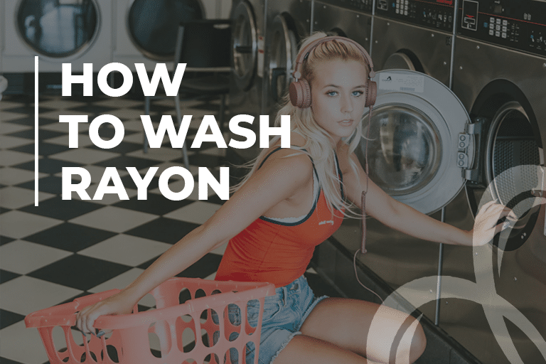 How to wash rayon