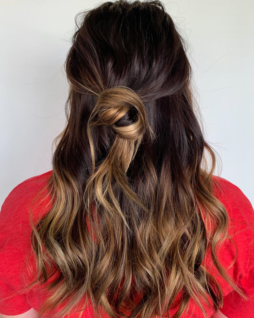 Light Chocolate balayage