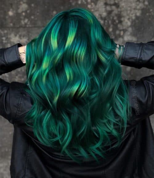 Mermaid style green