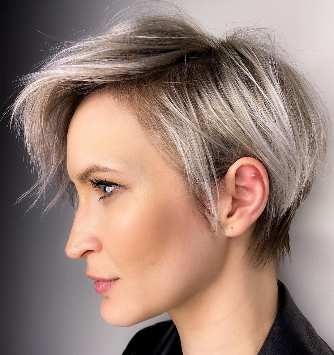 Pixie Cut For Ash Blonde Hair