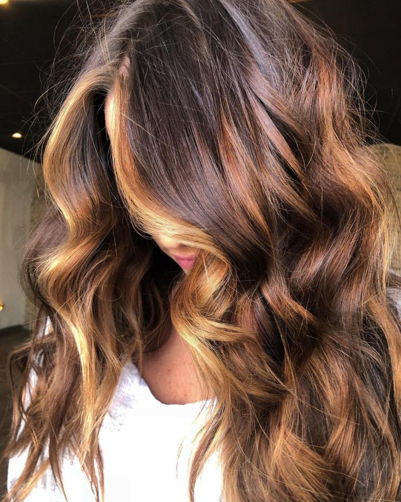 Rose-gold highlights
