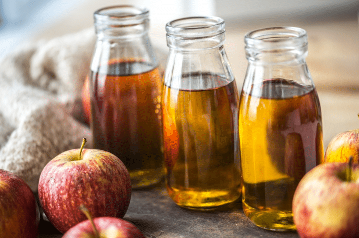 shelf life of apple cider vinegar