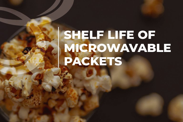 shelf life of microwavable packets
