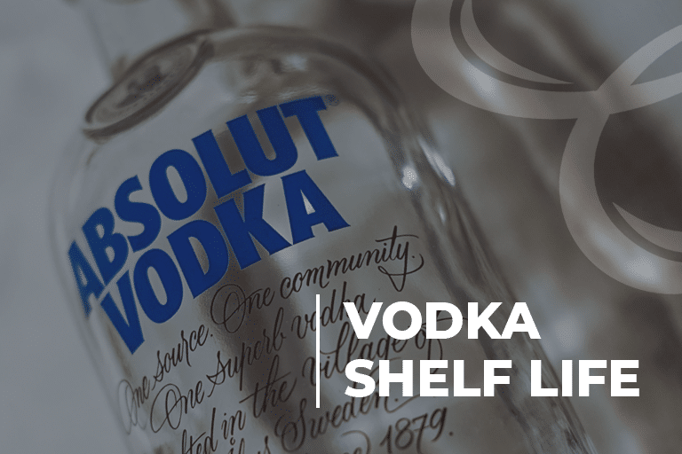 Vodka Shelf Life