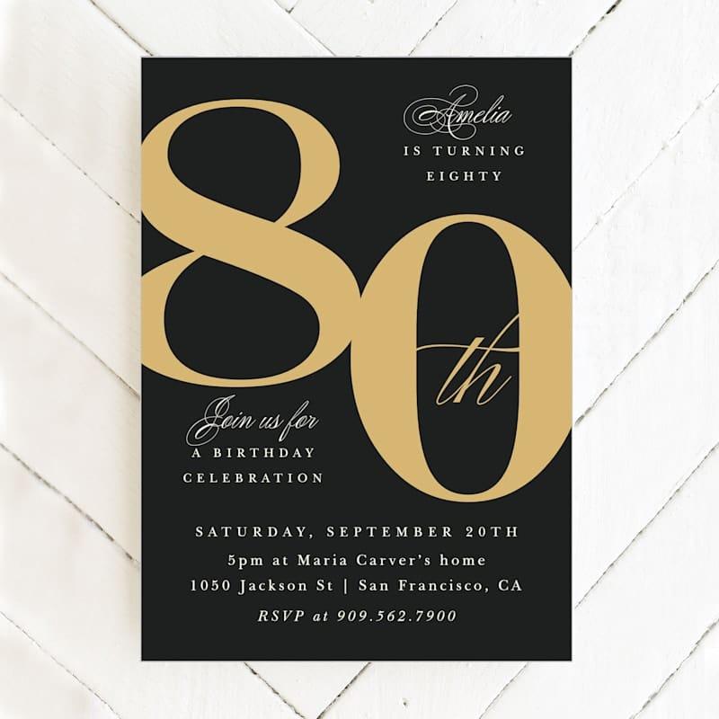 80th_birthday_party_invitations_gold