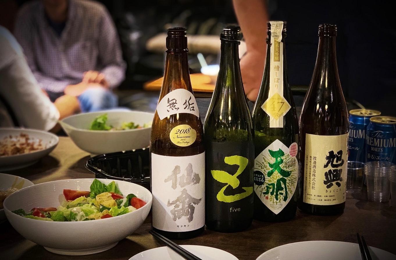 Japanese Sake Alcohol Content