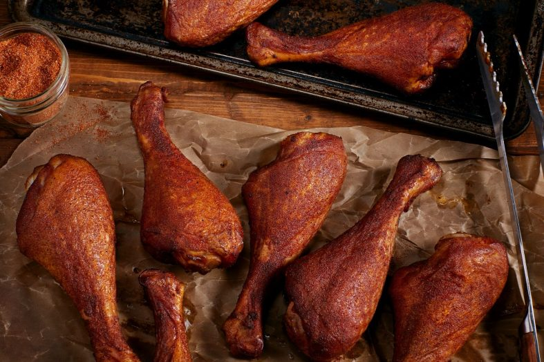 how to heat up smoked turkey legs
