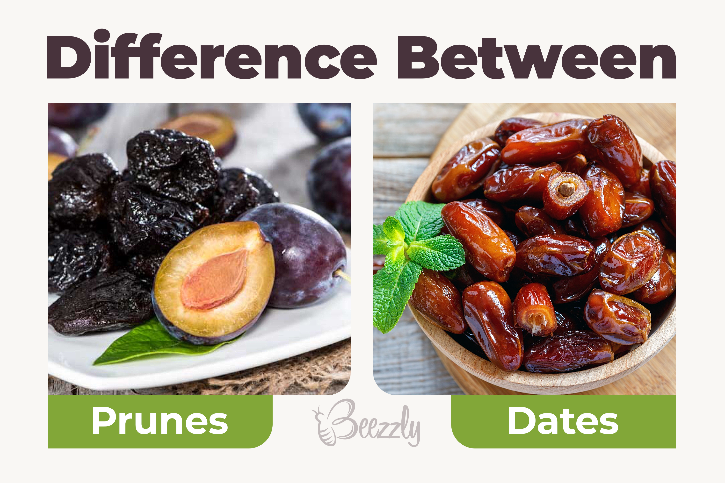 difference between dates and prunes