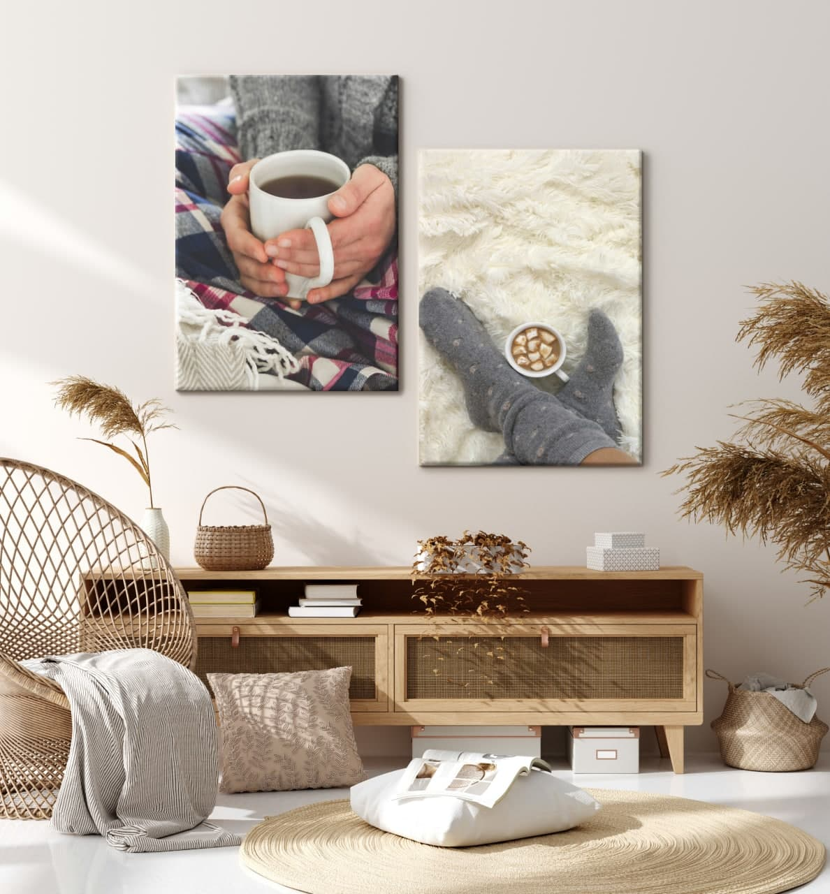Create Multi Print Wall Displays