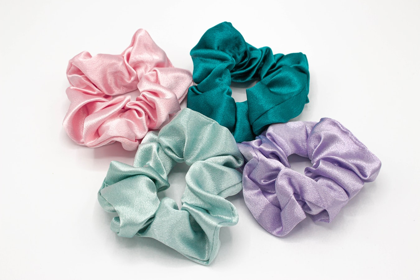Washing Hair Scrunchies