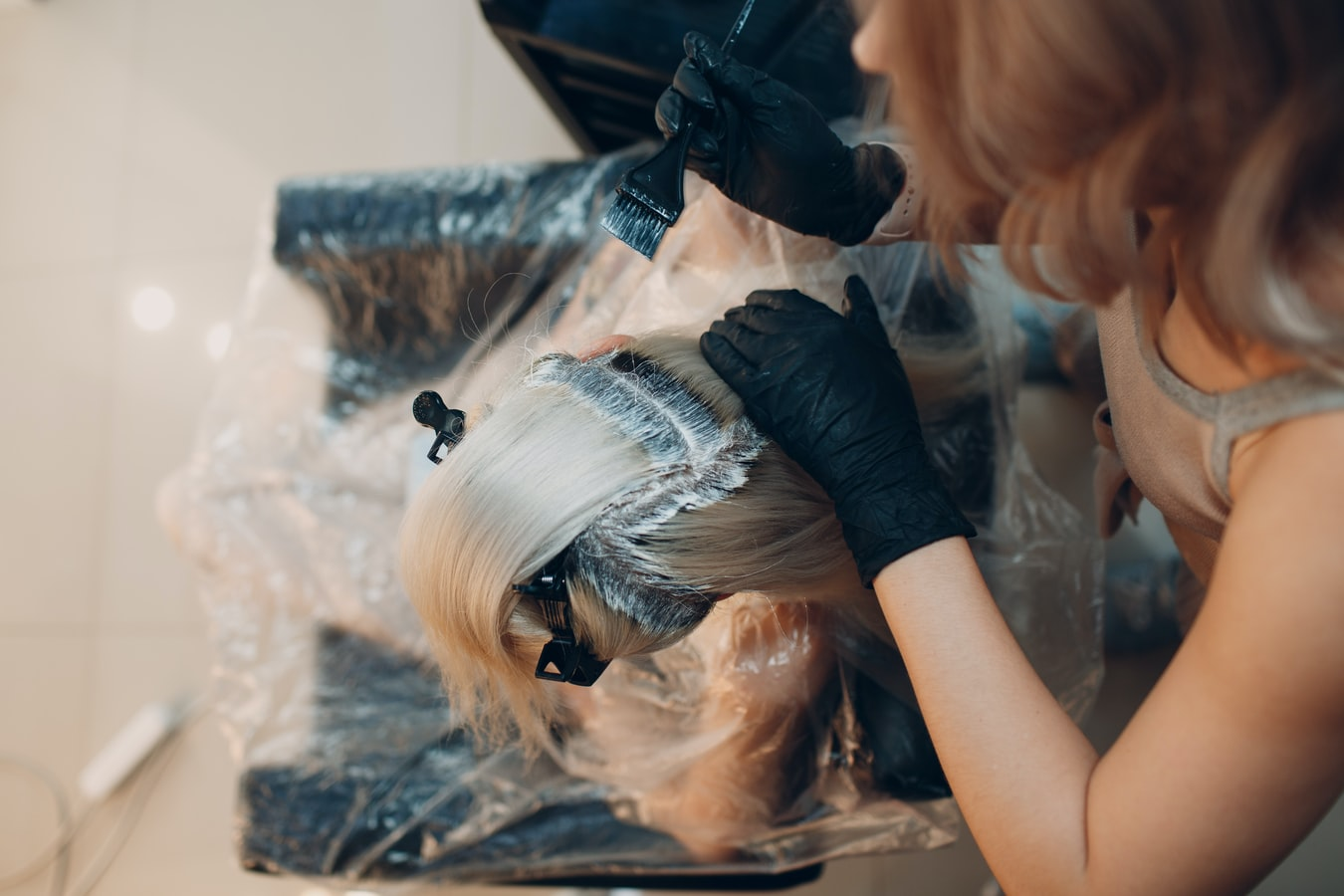 Why to Apply Bleach When Dyeing Hair