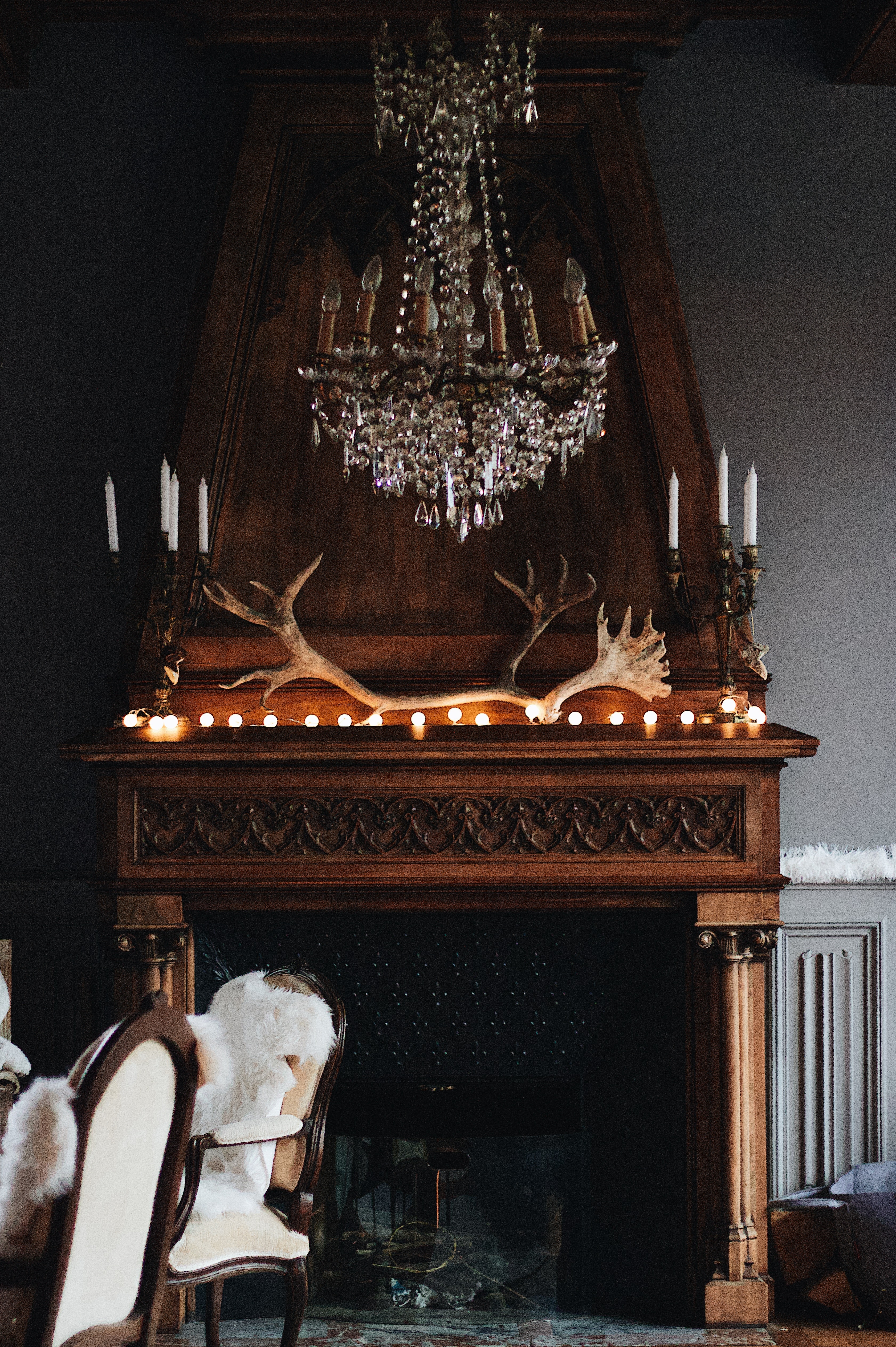 70s Fireplace Makeover