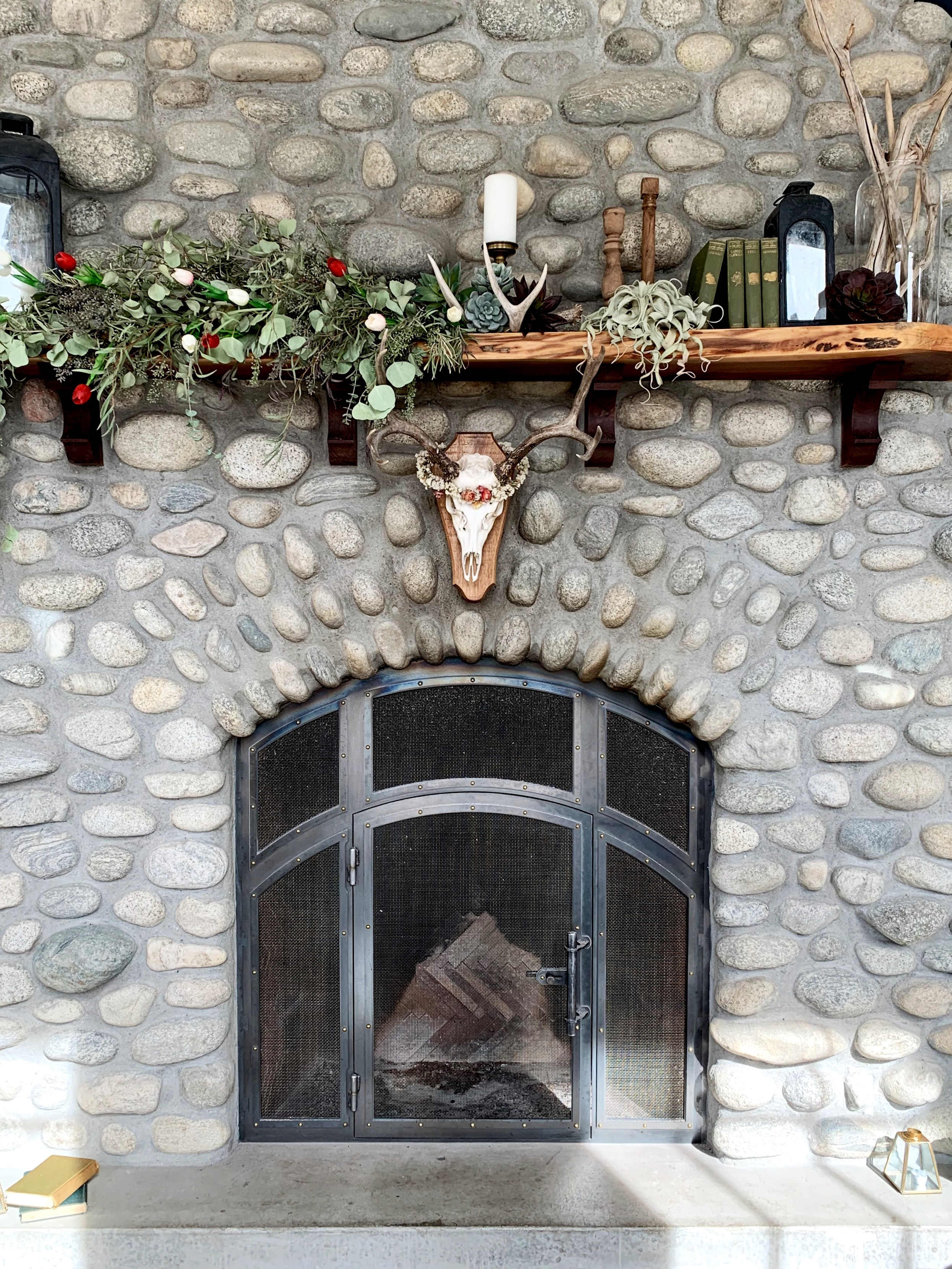 How to Remove Stone Fireplace Facade