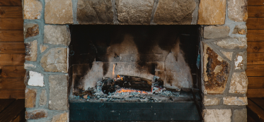 How to Update a 1970s Stone Fireplace
