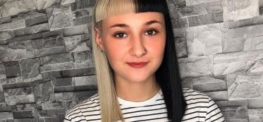 25 Half Blonde Half Black Hairstyle Ideas