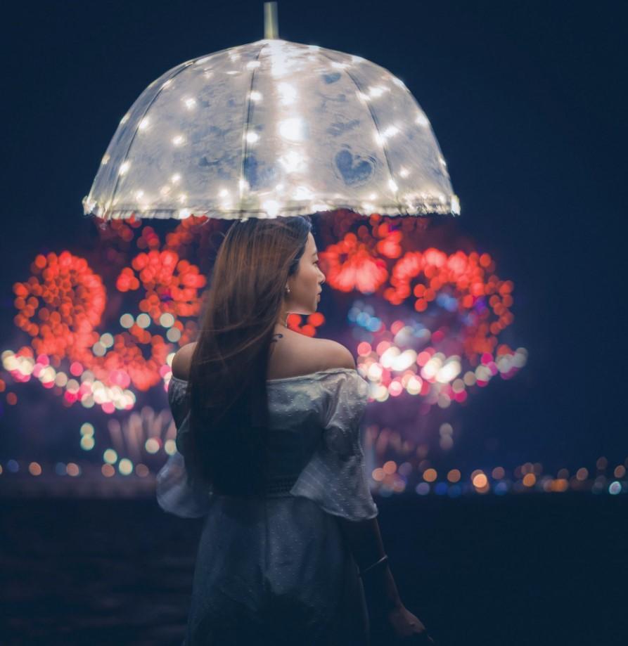 Autumn fireflies
