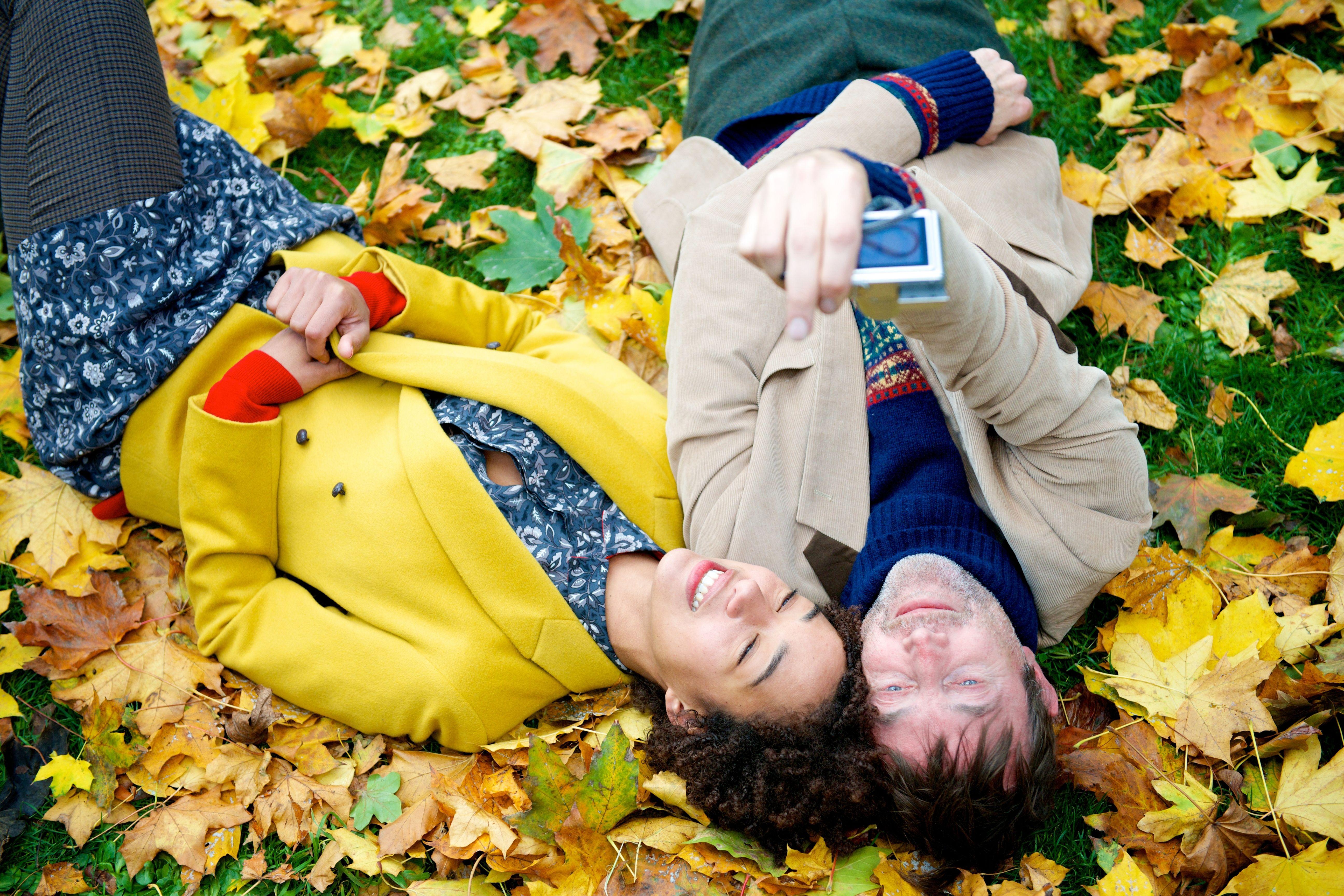Autumn selfies