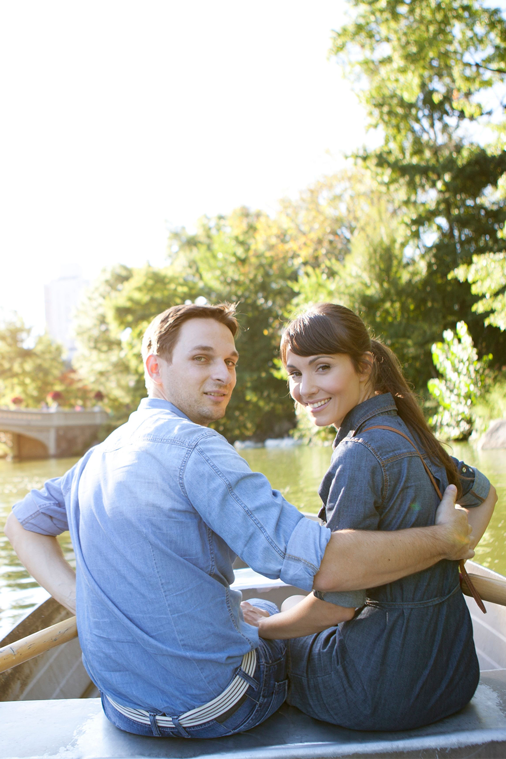 Fall Engagement Photos Ideas take a boat ride