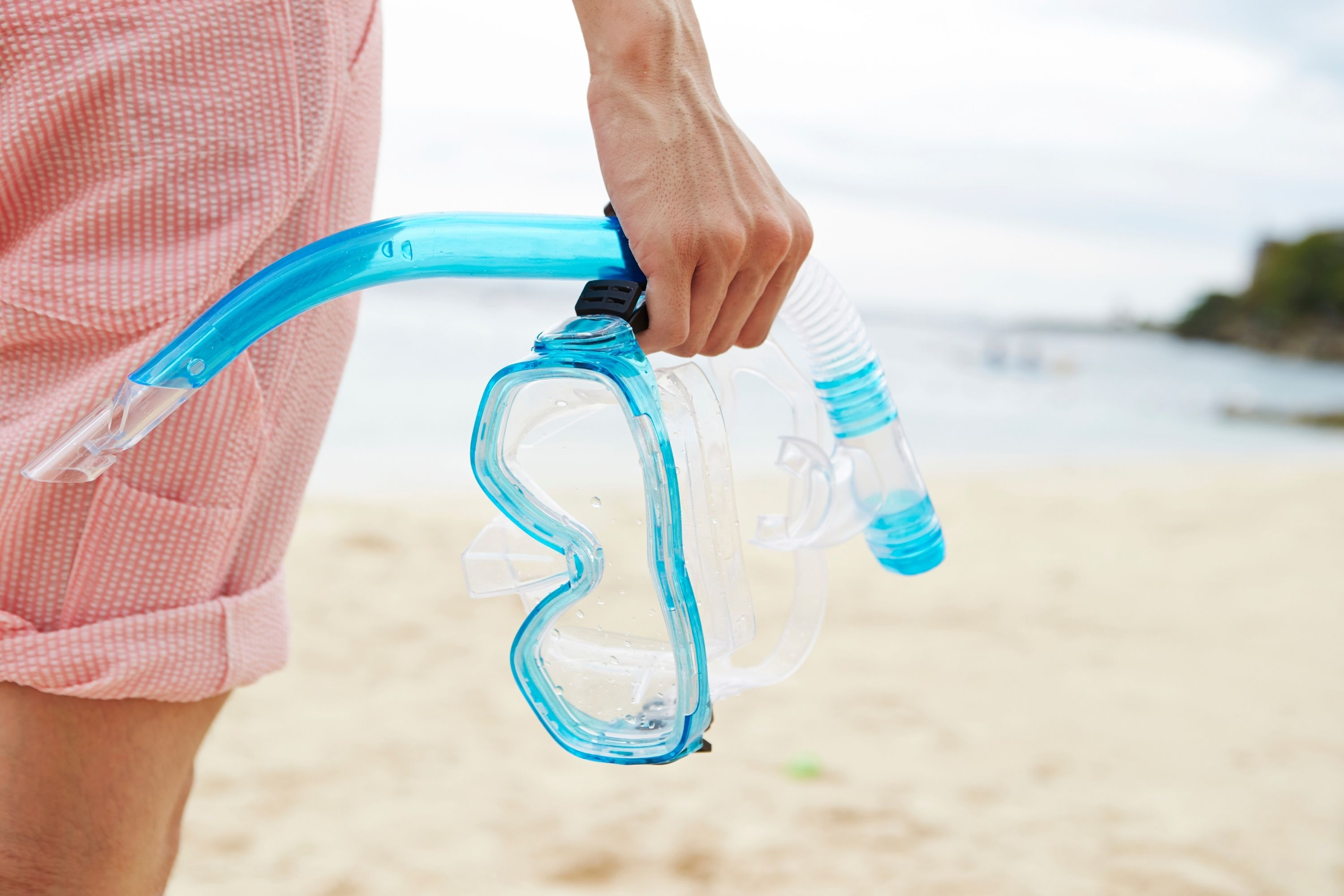 How to Clean a Snorkel Mask after each use