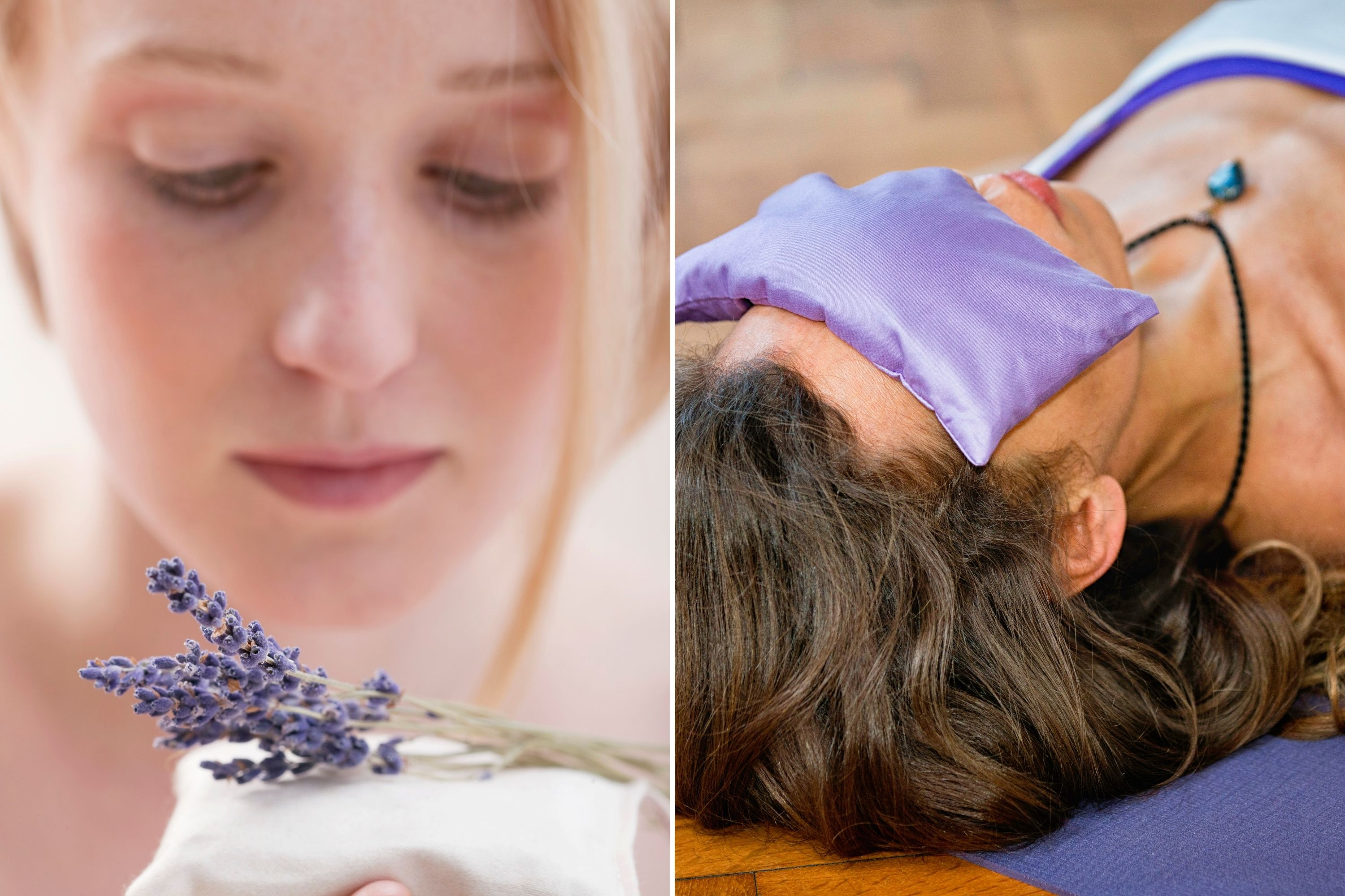 Lavender Pillows May Aid in Improving Sleep