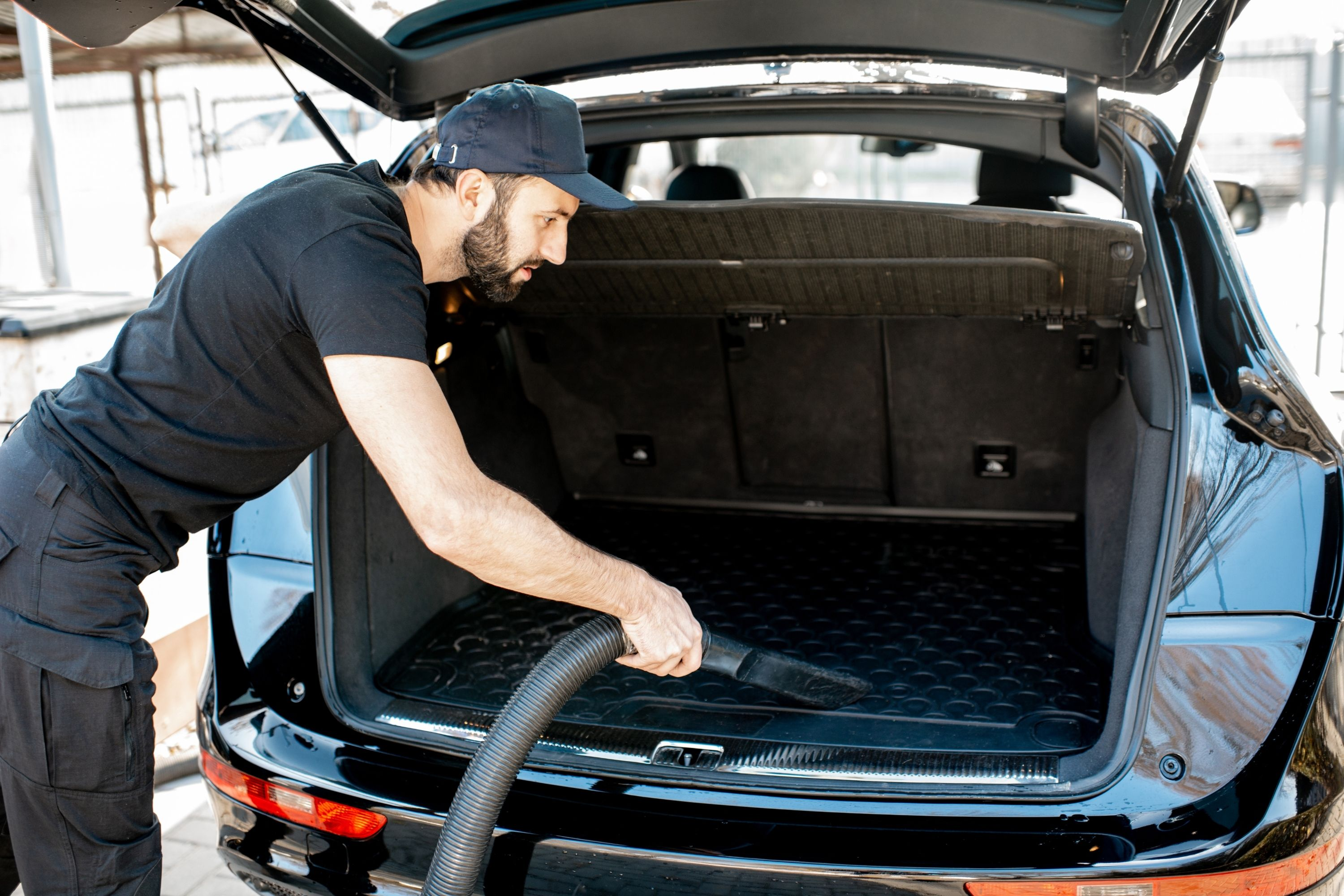 How to Clean a Gas Spill In a Car Trunk