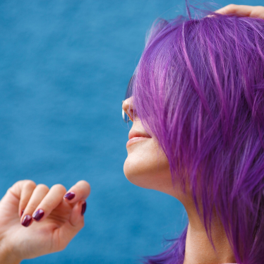 How to Dye Over Purple Hair